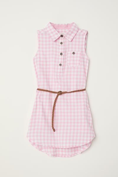 H&M - Robe chemise sans manches - 1