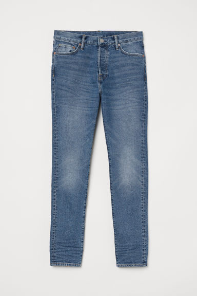 Skinny Carrot Jeans - Denim blue - Men | H&M CN