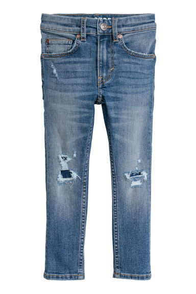 Superstretch Skinny Fit Jeans - 牛仔蓝 - Kids | H&M CN