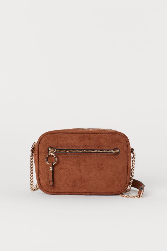 98b193a9c6cf Маленькая сумочка на ремне - Коричневый - Женщины | H&M ...