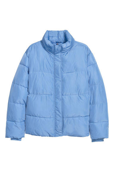 H&M+ Padded jacket - Light blue - Ladies | H&M CN