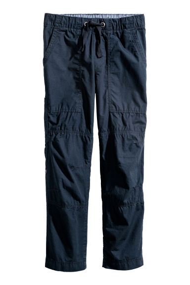 Cargo trousers - Dark blue - Kids | H&M