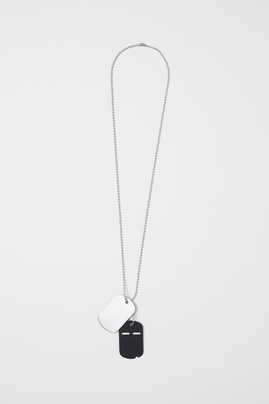 Necklace with pendants - Silver-coloured - Men | H&M CN