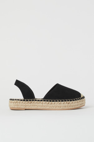 Espadrilles mit SlingbackModell