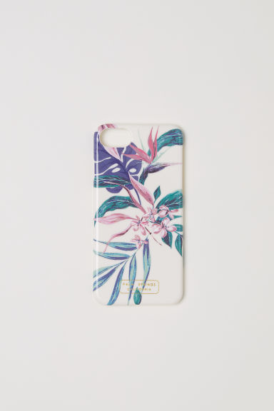 iPhone 6/8 case - White/Floral -  | H&M CN