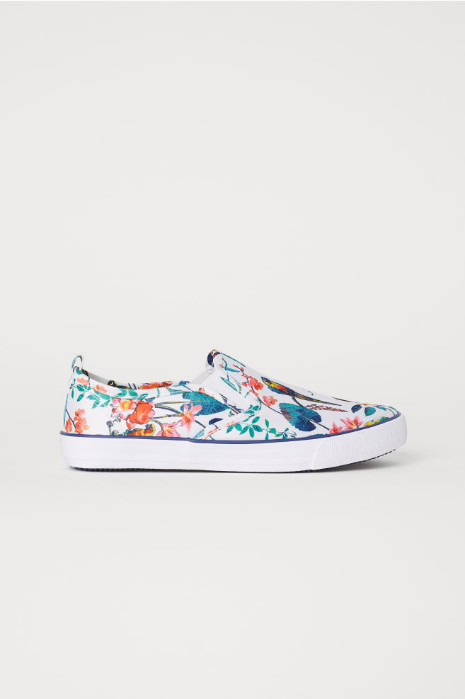 968eacb806 Slip-on trainers - White Floral - Kids