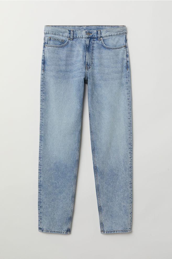 f40cde4111e Dad Jeans Trashed - Light blue washed out - Men