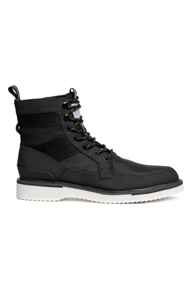 Mesh boots - Black - Men | H&M