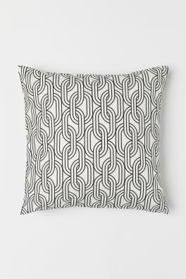 452c209d2bc Patterned Cotton Cushion Cover