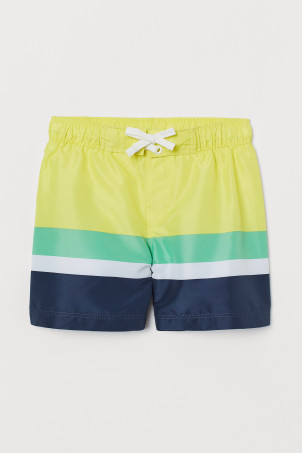 Color-block Swim Shorts