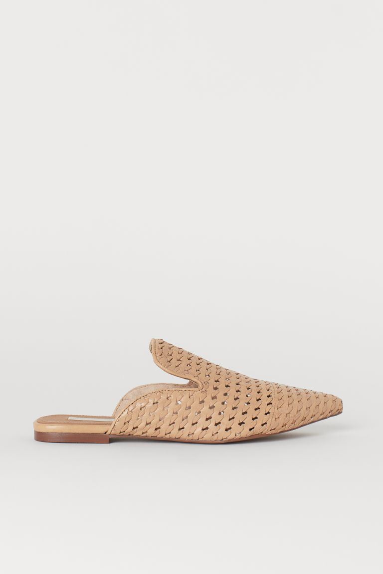 Sandali slip-on - Beige - DONNA | H&M IT