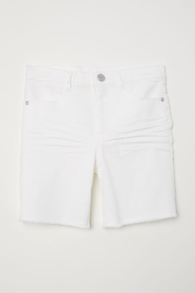 Shorts in twill - Bianco -  | H&M IT