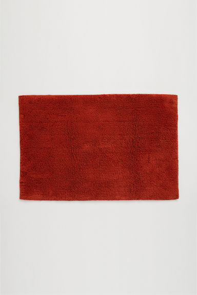 Bath mat - Dark orange - Home All | H&M GB