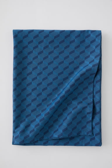 Jacquard-weave tablecloth - Petrol - Home All | H&M CN