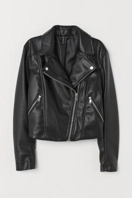 99a7ffe66cf0 Biker Jacket - Black -