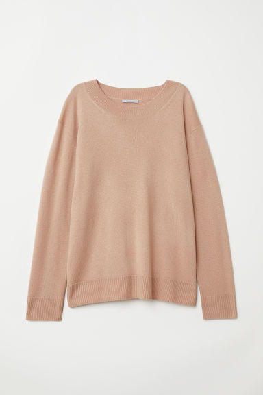 Cashmere jumper - Camel - Ladies | H&M GB