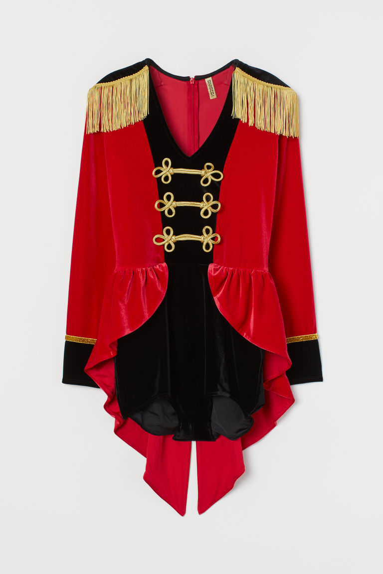 Fancy dress costume - Red/Black/Gold-coloured - Ladies | H&M