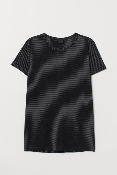 H&M - T-Shirt aus geflammtem Jersey - 4