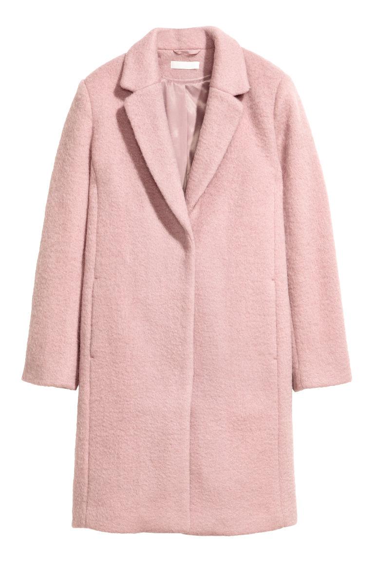quality design 5b23a f2b3d Cappotto corto in misto lana