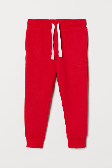Joggers - Felrood - KINDEREN | H&M BE