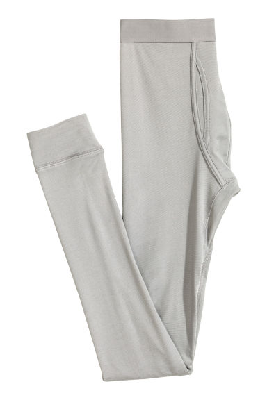 Thermal longjohns - Grey marl -  | H&M