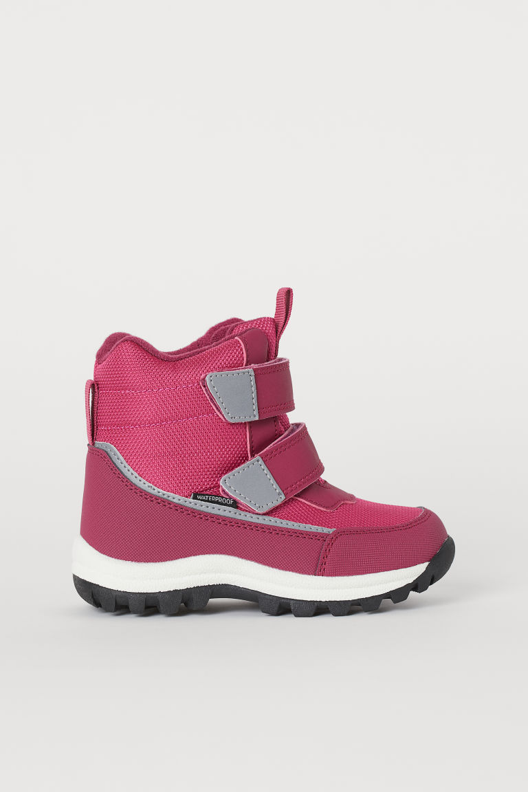 Waterproof boots - Dark pink - Kids | H&M IN