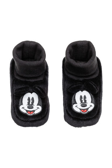 Chaussons - Noir/Mickey - ENFANT | H&M BE