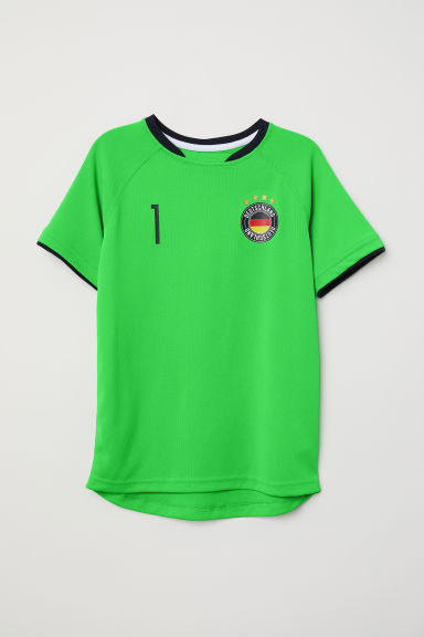 Football shirt - Neon green/Deutschland -  | H&M