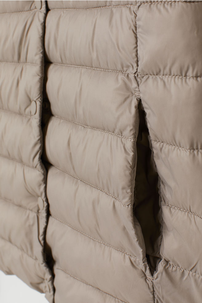 a978f08e1 Padded Jacket - Light taupe -