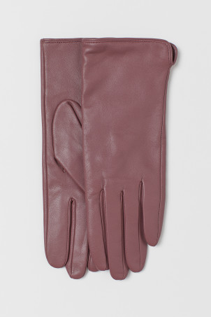 Leather glovesModel