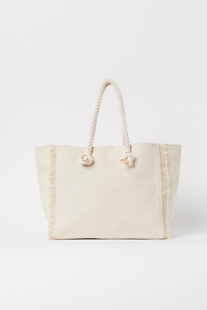 Sac shopping frangéModèle