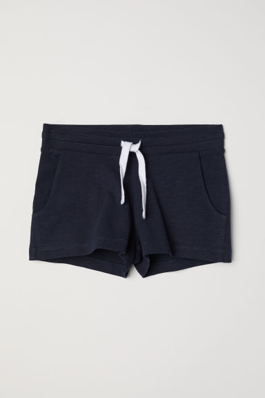 Short jersey shorts - Dark blue - Kids | H&M