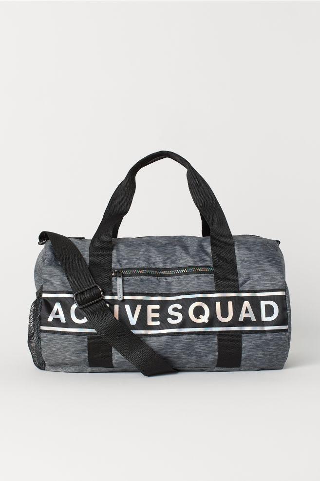 Sports bag - Dark grey marl - Kids  8f0dd007df512