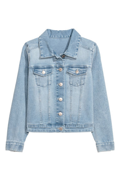 Denim Jacket - Light denim blue - Kids | H&M US