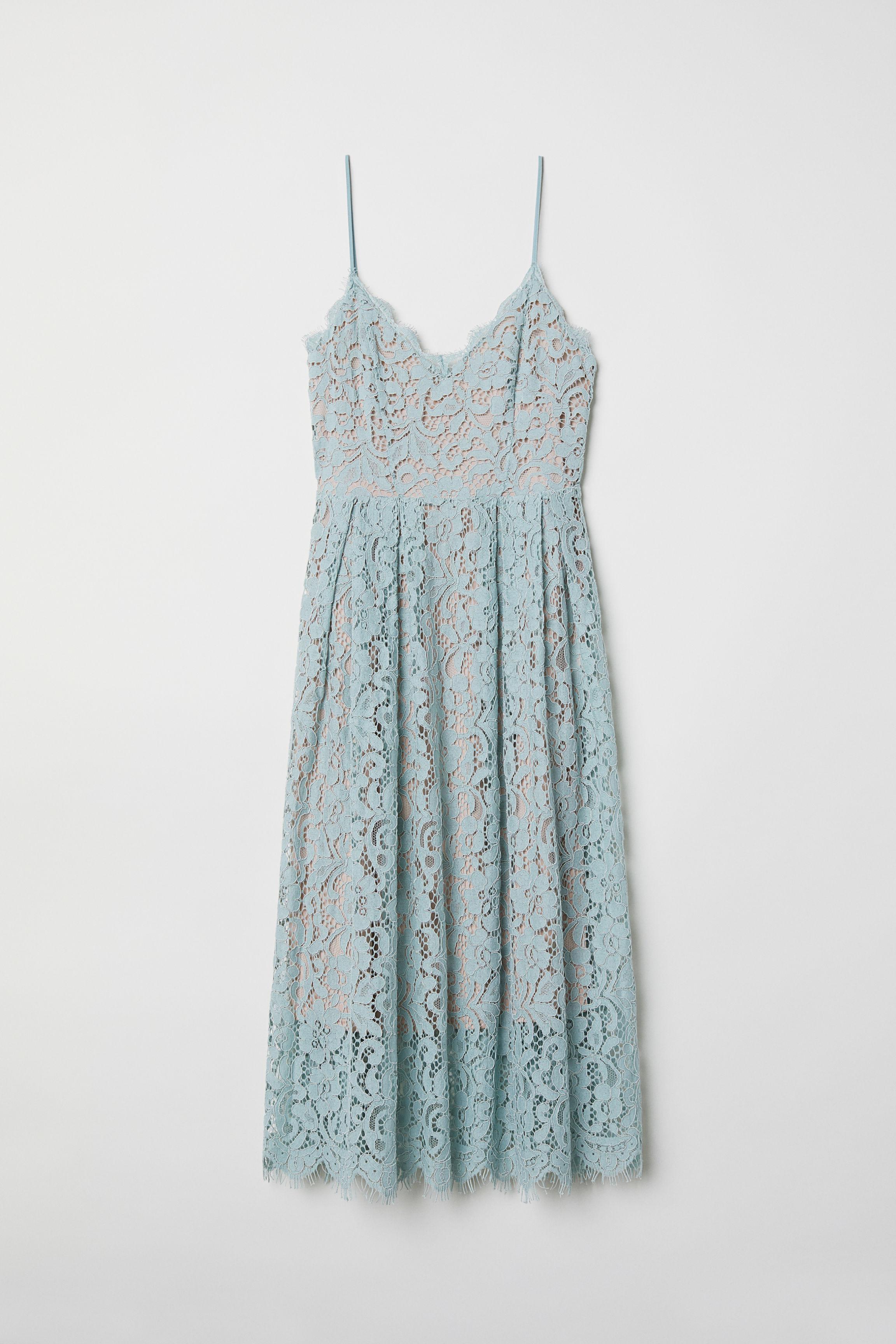 2bc3c088d9e Lace Dress - Powder pink - Ladies