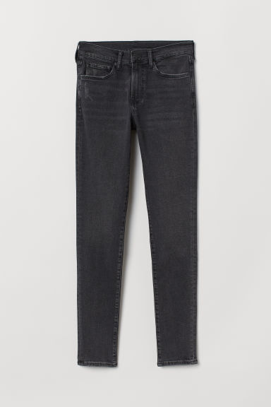 Skinny Jeans - Nero/washed out - UOMO | H&M IT