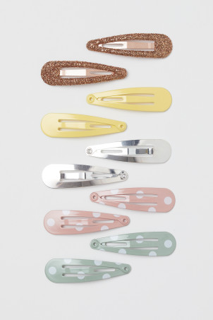 10-pack hair clips