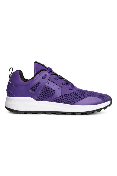 Mesh trainers - Purple - Men | H&M
