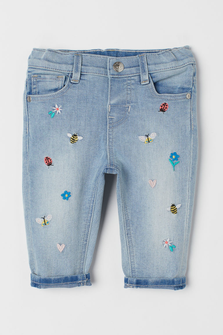 Relaxed Fit Jeans - Denimblauw - KINDEREN | H&M BE