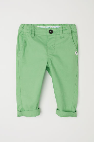 Chinos - Light green - Kids | H&M