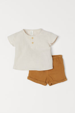 483d40c5b09a Shop Newborn Clothing Online - Age 0-9 Months | H&M US
