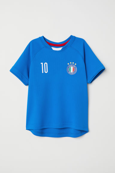 Football shirt - Bright blue/Italia -  | H&M CN
