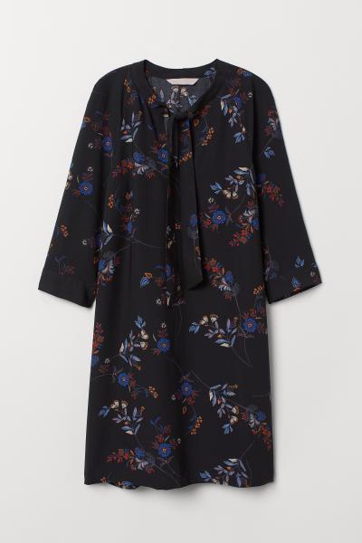 H&M - Robe avec liens à nouer - 5