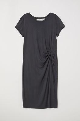 029a58523 Vestido drapeado de punto