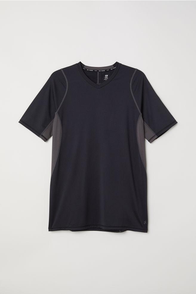 9807e5be73a Sportovní tričko - Černá - MUŽI
