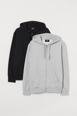 Set van 2 hoodies Regular Fit