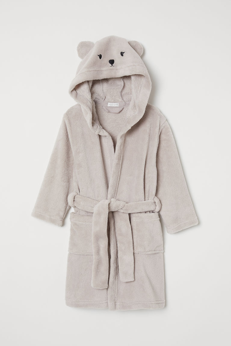 Robe de chambre - Gris/ours - Home All | H&M FR