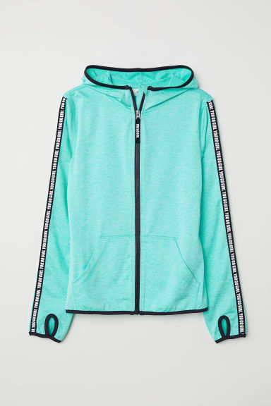 Sports jacket - Turquoise marl - Kids | H&M