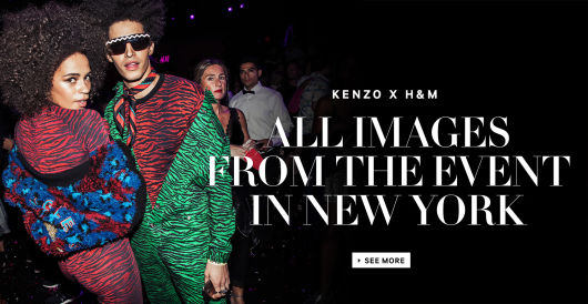 e10a410f65a Click here for all the images from the Kenzo x H&M event. ""