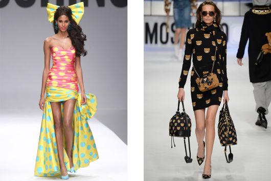 19f2515132 Milan Fashion Week Spring Summer 2015 (left) and Autumn Winter 2015 (